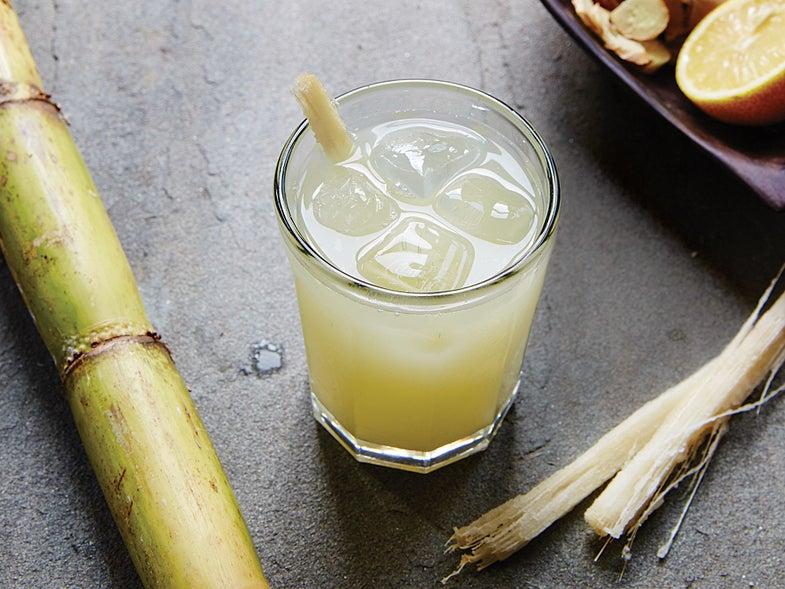 Zanzibari Pressed Sugarcane Drink