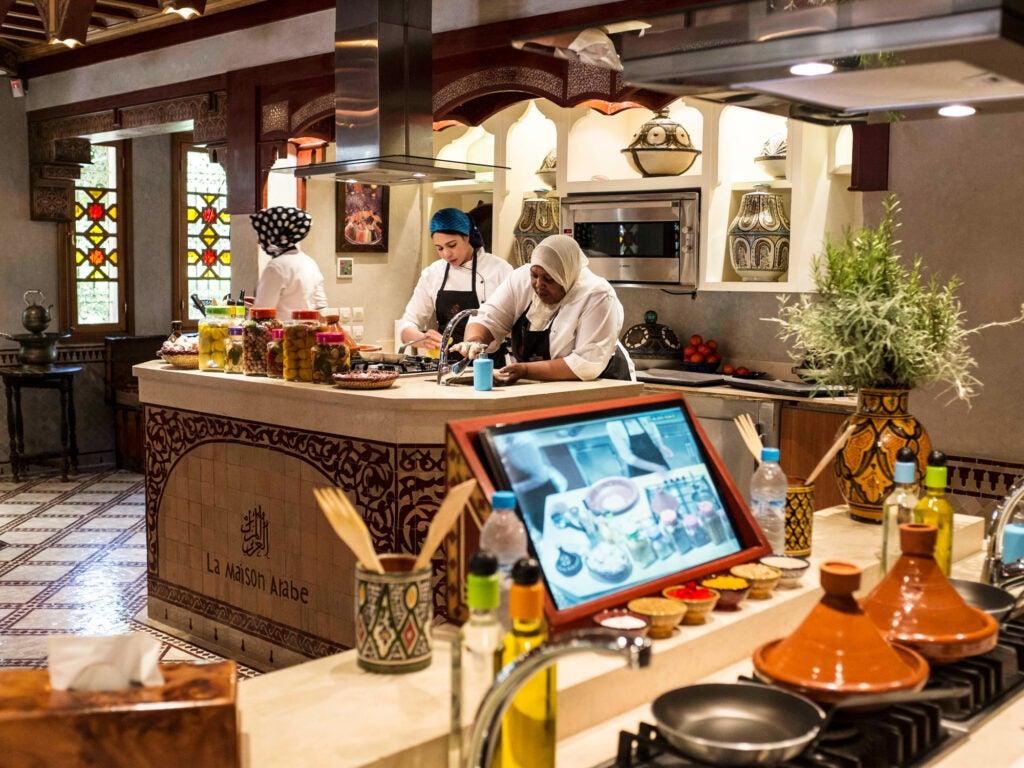 Morocco, Marrakech, La Maison Arabe