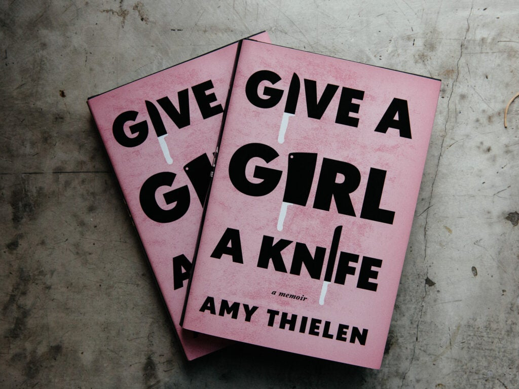 Everyone was ready to celebrate Amy Thielen's new book, *Give a Girl a Knife*.