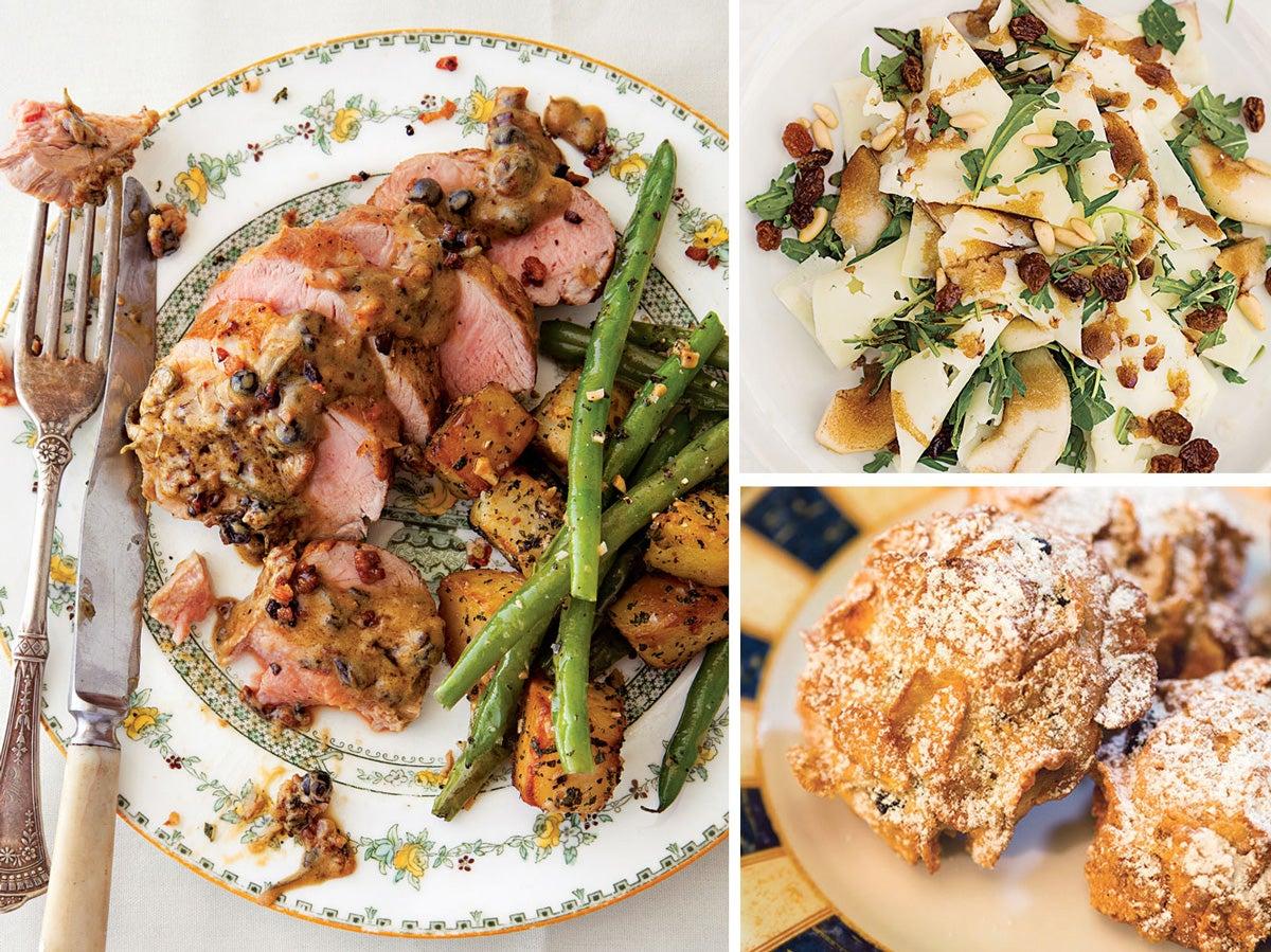 Menu: Dinner in Umbria