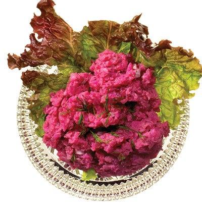 Danish Smoked Herring, Beet, and Potato Salad (Sildesalat)