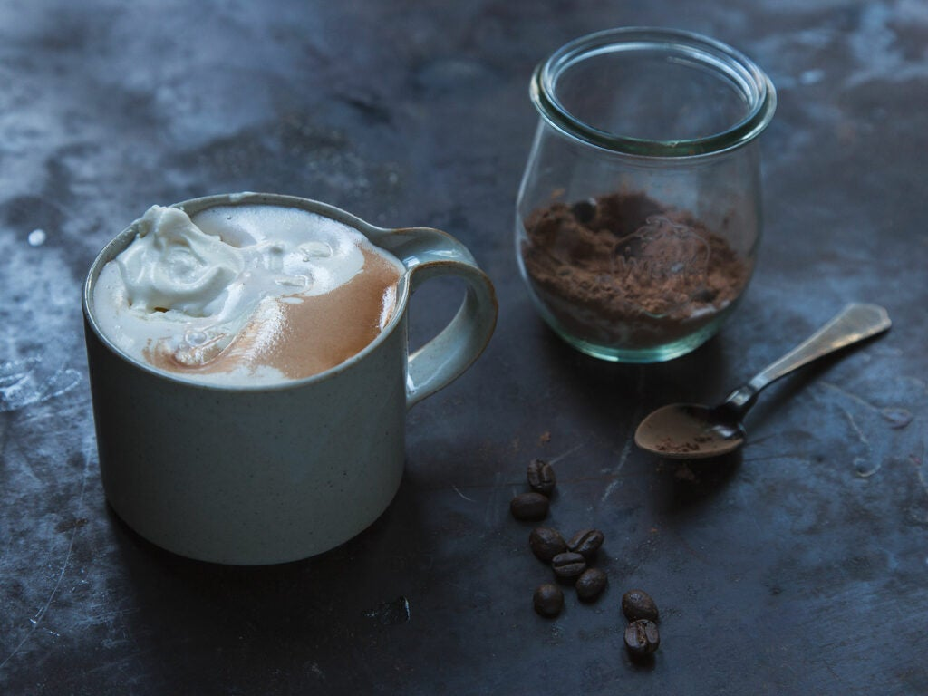 Coffee Spiked Hot Chocolate