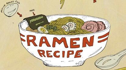 Recipe Comix: Tonkotsu Ramen