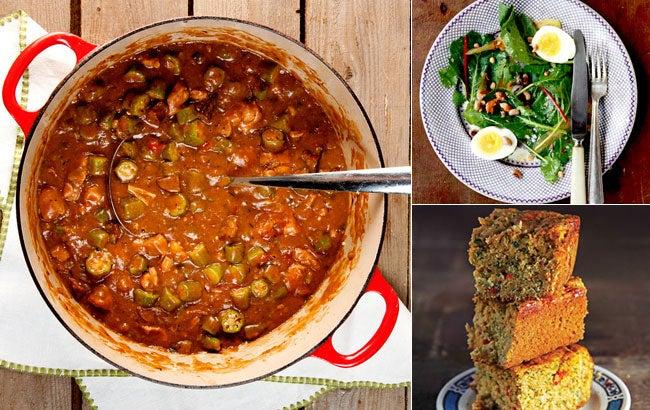 Menu: A Southern Gumbo Supper