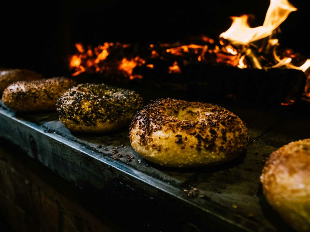 Forage Market Bagels Fire