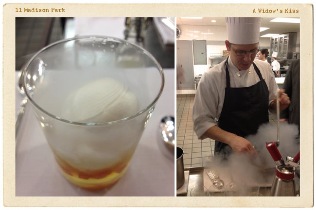 Postcard: A Widow's Kiss at Eleven Madison Park