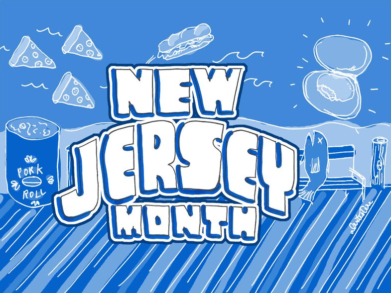 Why is Saveur Spending a Month in New Jersey?