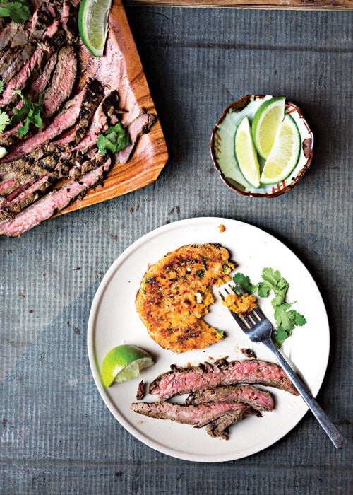 Grilled Ginger-Marinated Flank Steak
