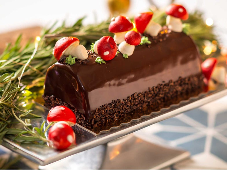 We Can't Stop Gawking at These Gorgeous Bûches de Noël