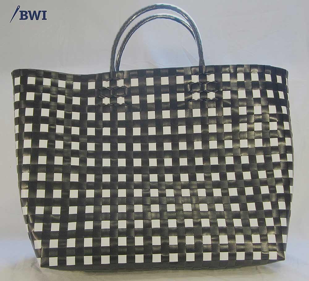 Woven shopping bags