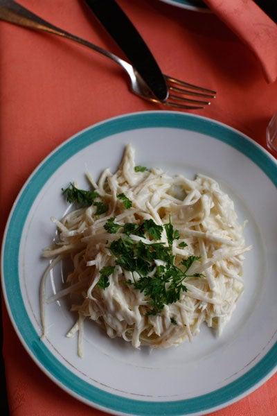 Céleri-Rave Rémoulade (Celery Root Rémoulade)