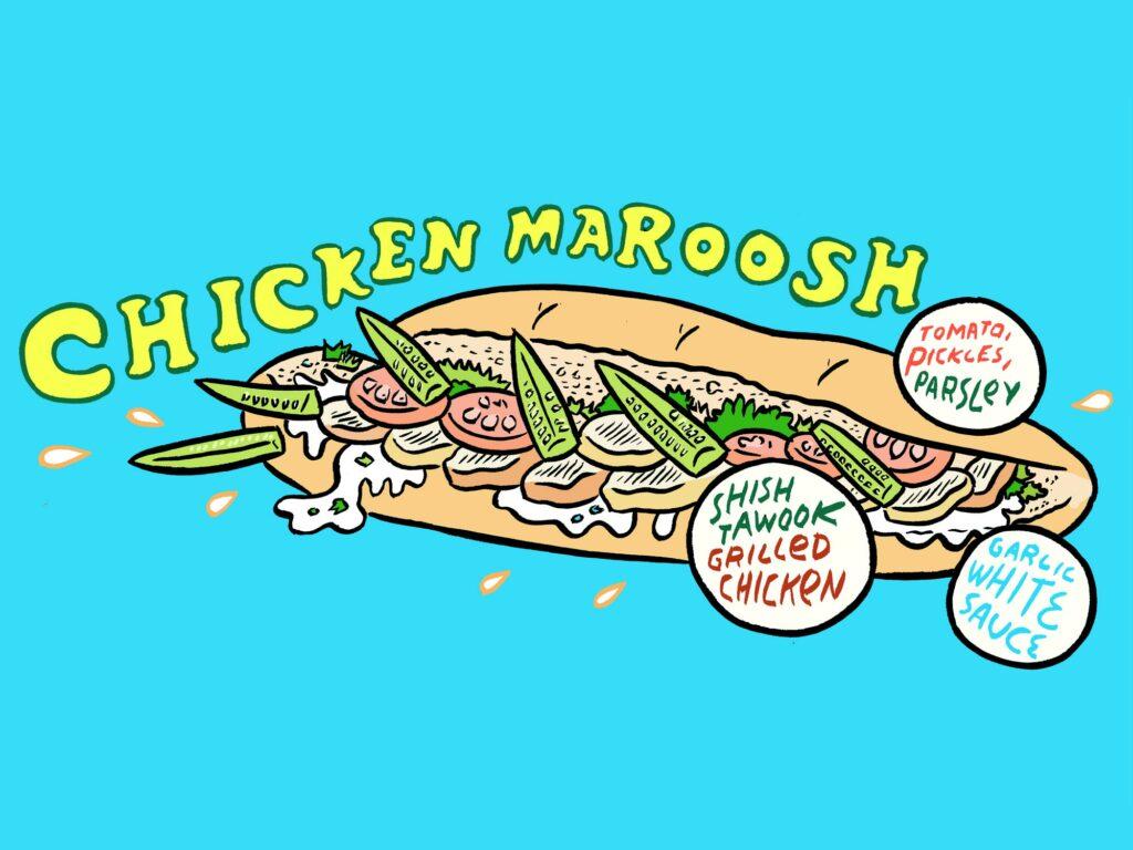 Chicken Maroosh