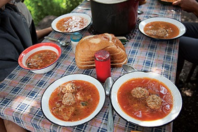 Pork-and-Rice Meatball Soup