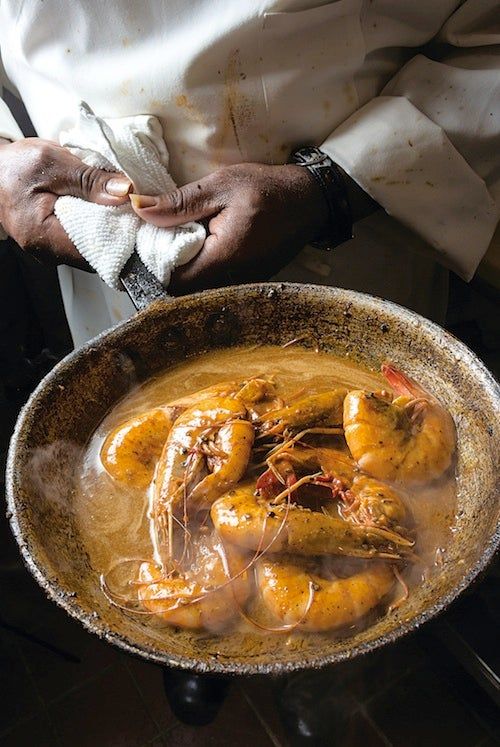 Mr. B's Barbecued Shrimp