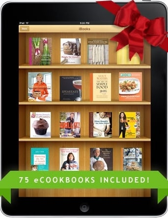 Win an iPad Loaded With a Massive Library of 75 e-Cookbooks