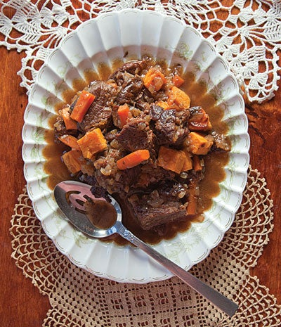 Root Vegetable Stew (Tzimmes)