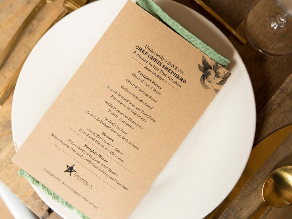 menu chris shepherd bobby heugel miner family vineyards