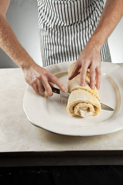 How To Roll and Decorate a Bûche de Noël