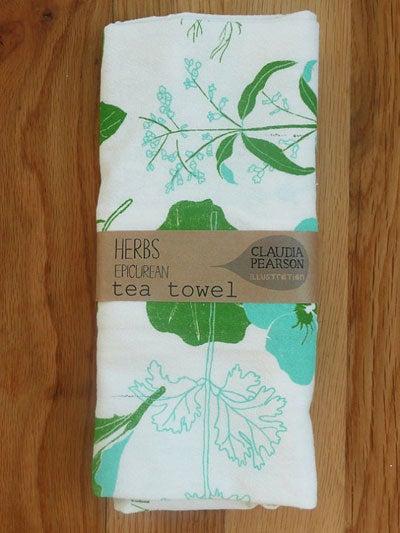 Illustrated Tea Towels