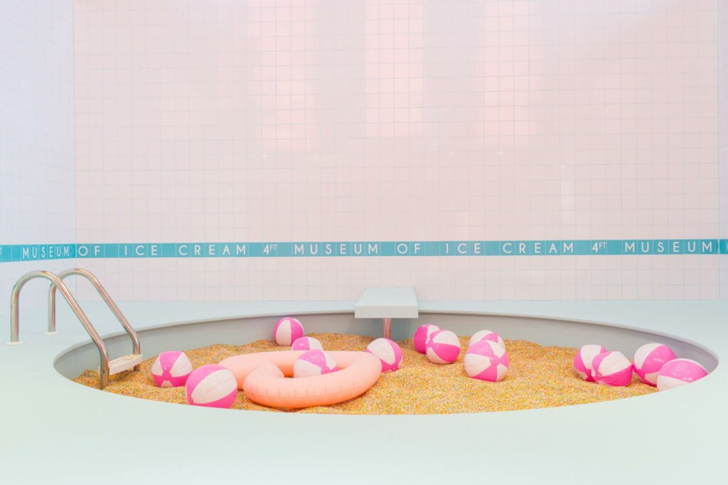 Museum of Ice Cream Sprinkle Pit