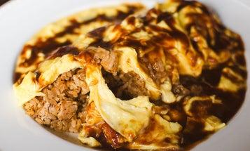 How to Make Omurice, Japan's Oozy Exploding Omelet