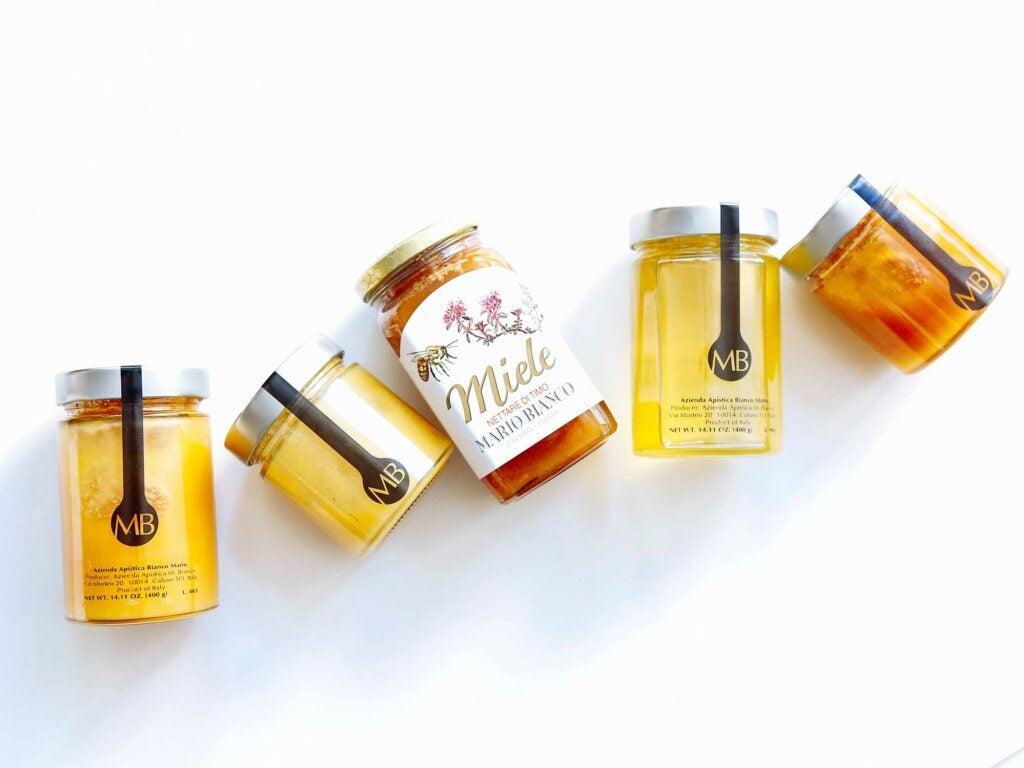 High end honey