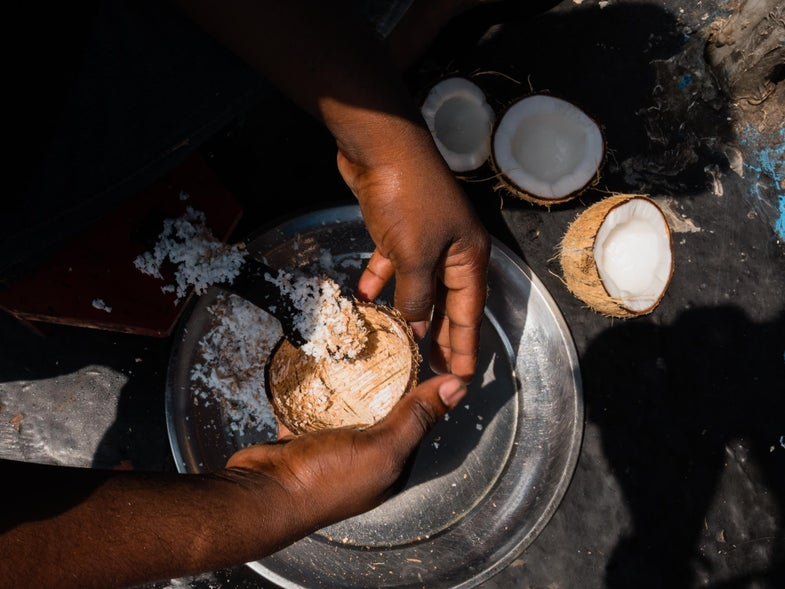 coconut in kerala