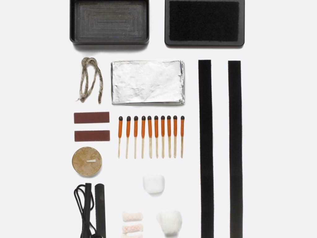Start a fire anywhere with this handy kit