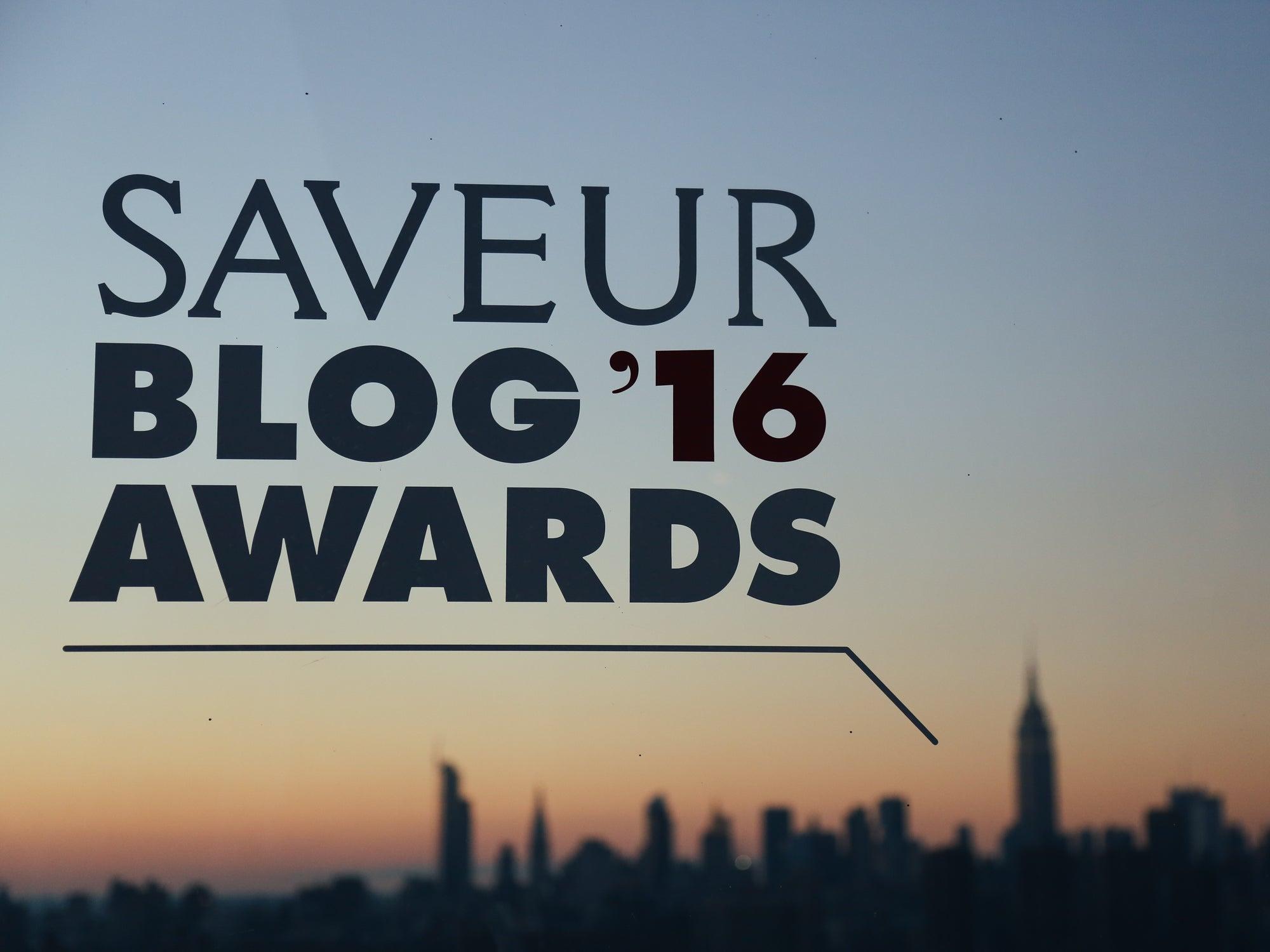 The 2016 Saveur Blog Awards Take Over New York