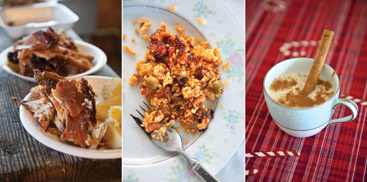 Menu: A Puerto Rican Christmas Feast
