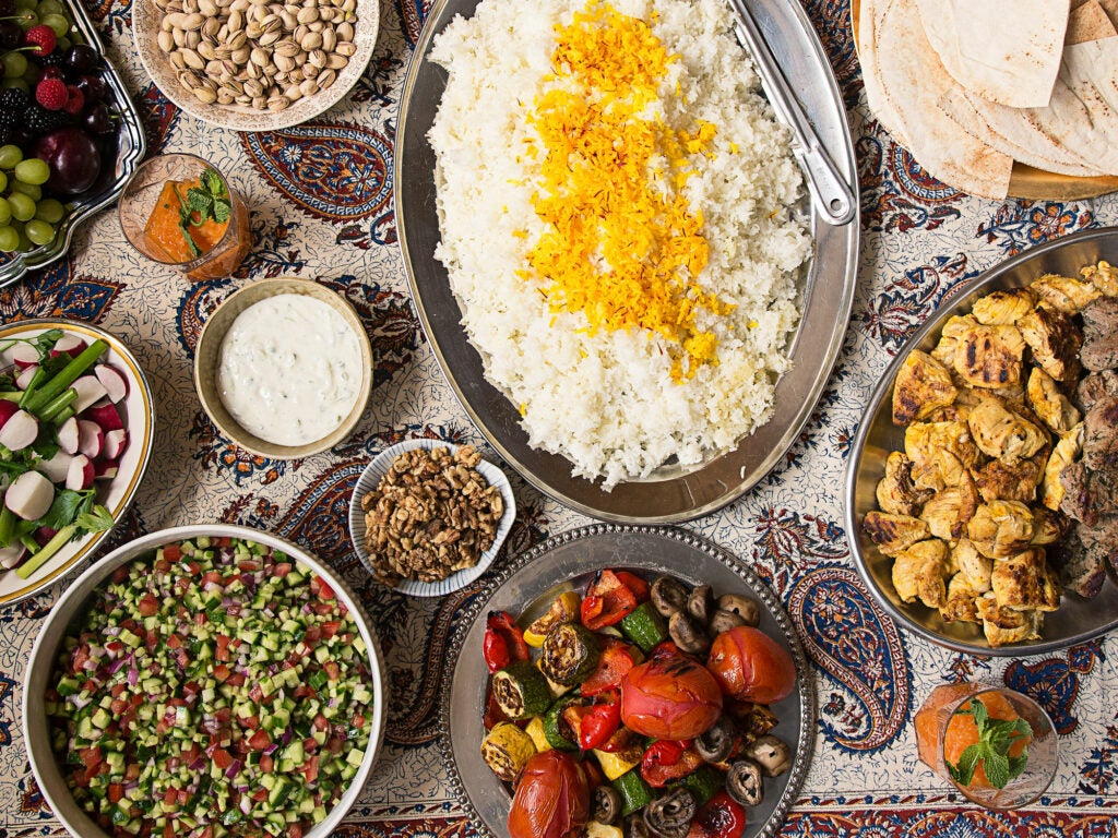 Father's Day Persian Menu