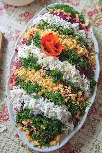 Layered Herring Salad (Selyodka Pod Shuboy)
