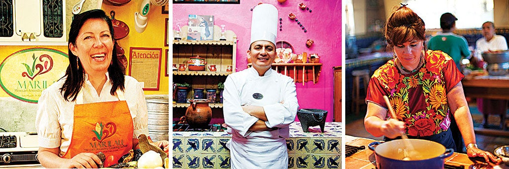 5 Mexican Cooking Schools