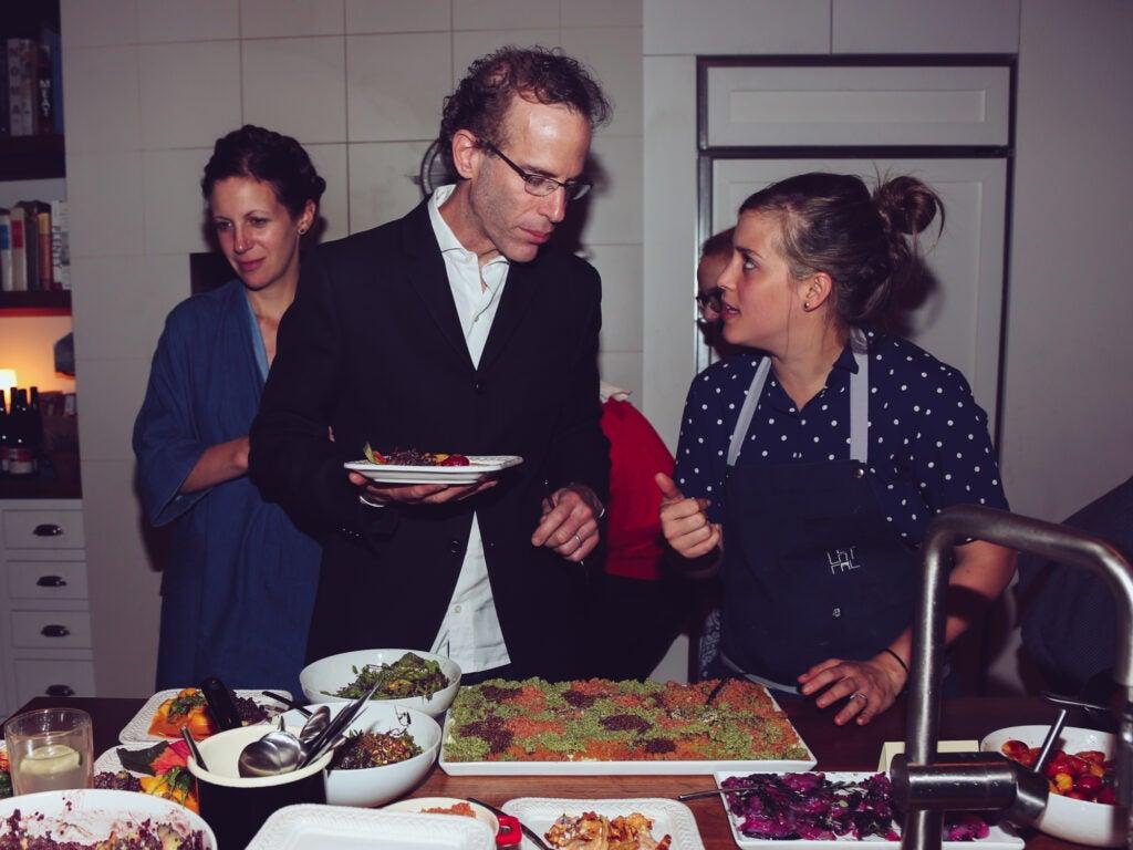 Chef Dan Barber and Pía León
