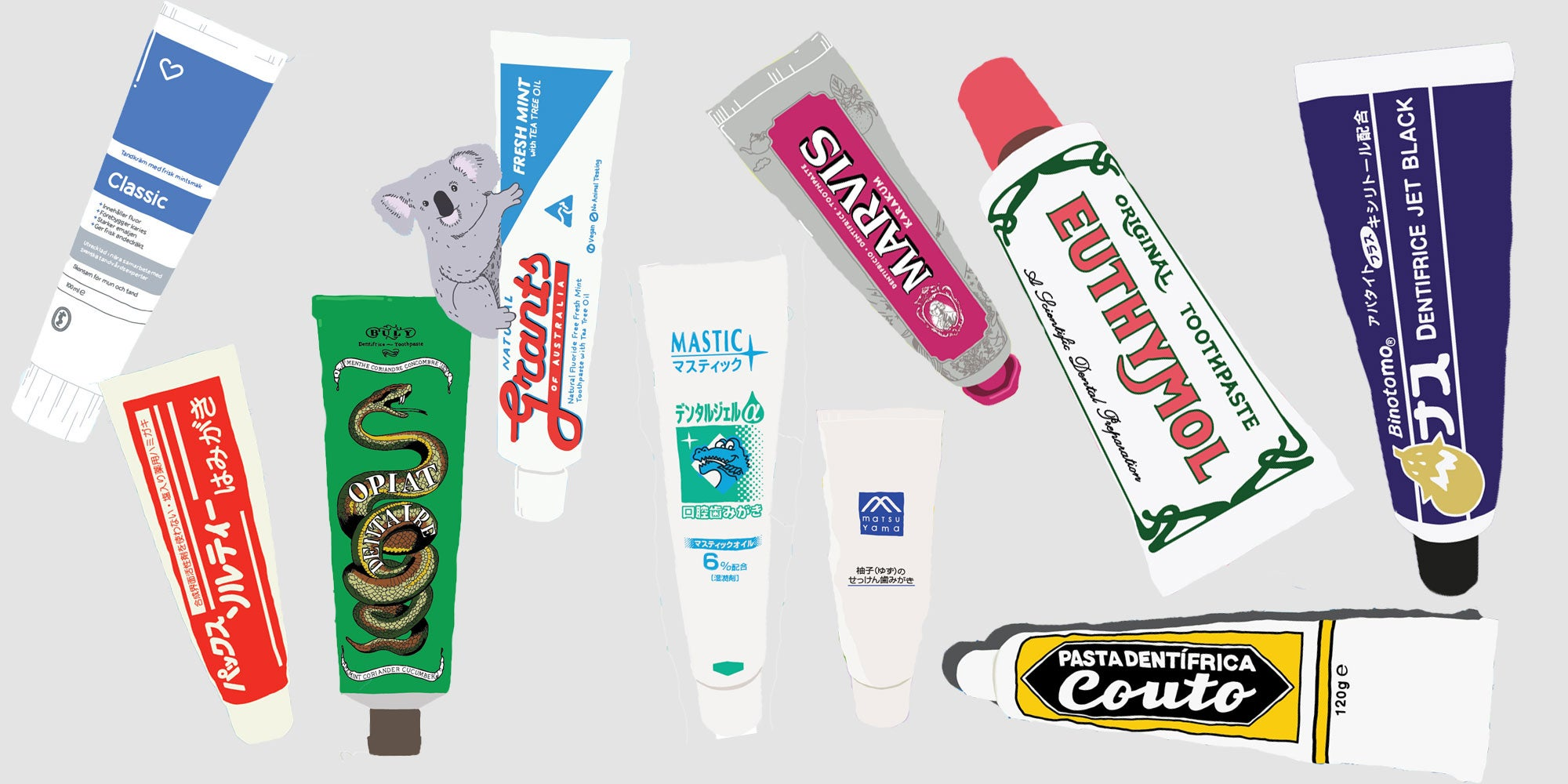 Toothpaste is Our New Favorite Souvenir