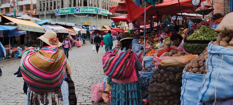 Market Foods of La Paz