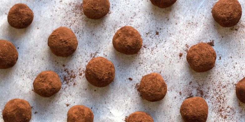 Chocolate Amaretti Truffles