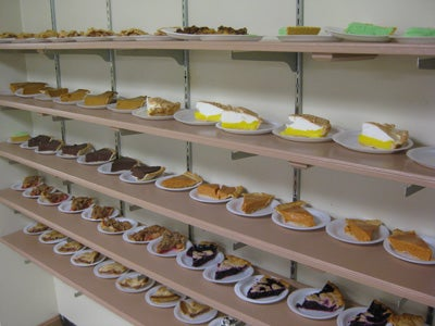 A Shelf For Prize Pies