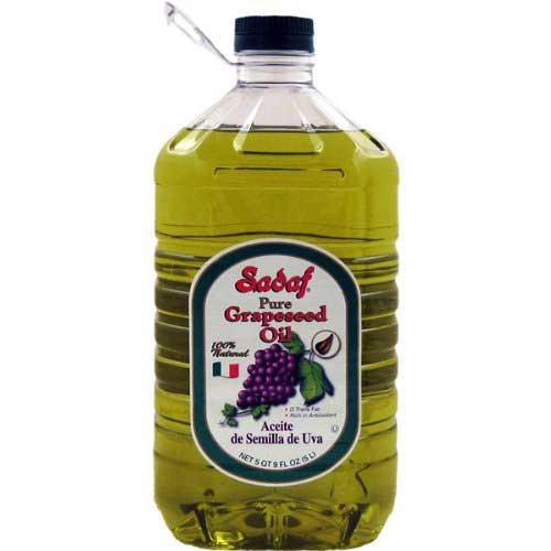 Sadaf Oil Grapeseed, 5 Liter