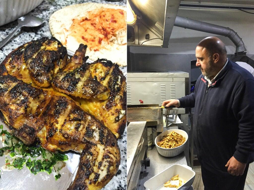 Al-Aga Syrian food Madrid