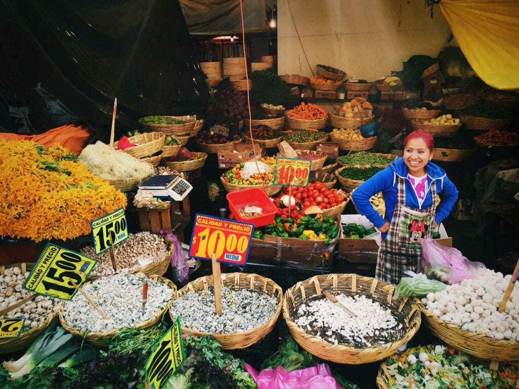 Mercado Merced Produce Stall