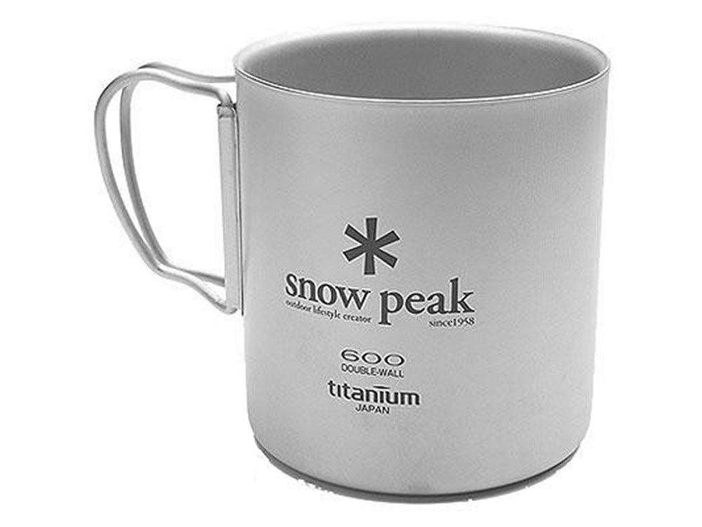 Snow Peak Titanium mug