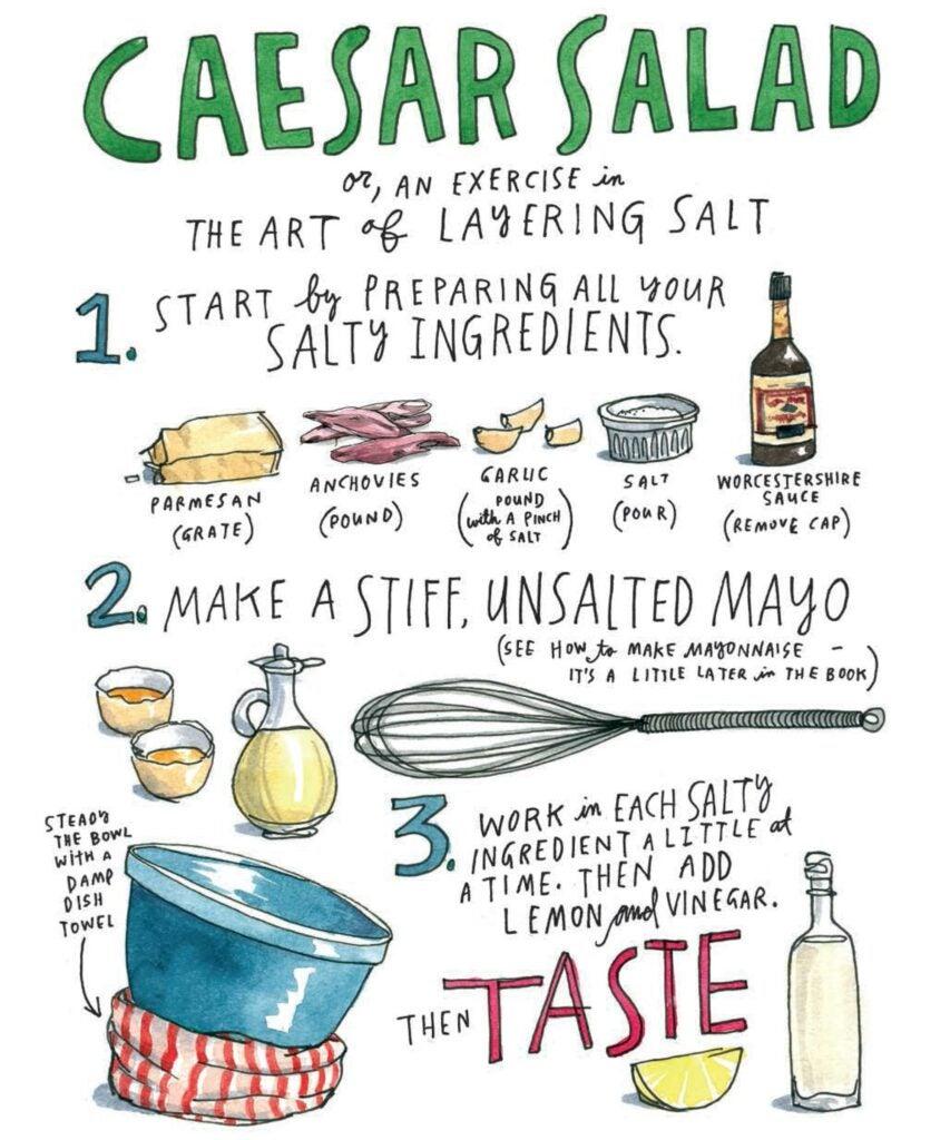 Salt Fat Acid Heat Caesar Salad