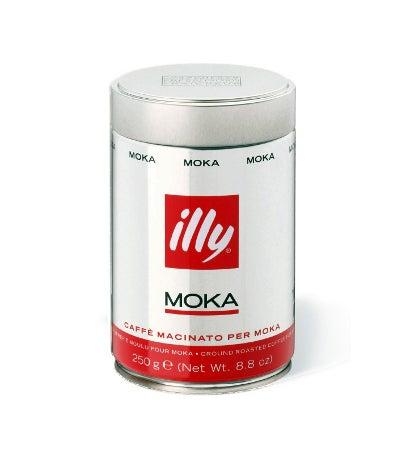 Illy Moka Ground Coffee Medium Roast