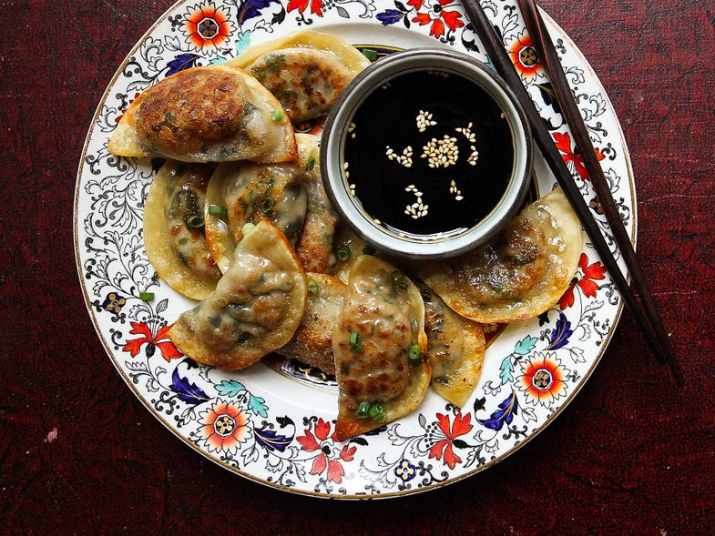 The Easiest Way to Make Potstickers at Home