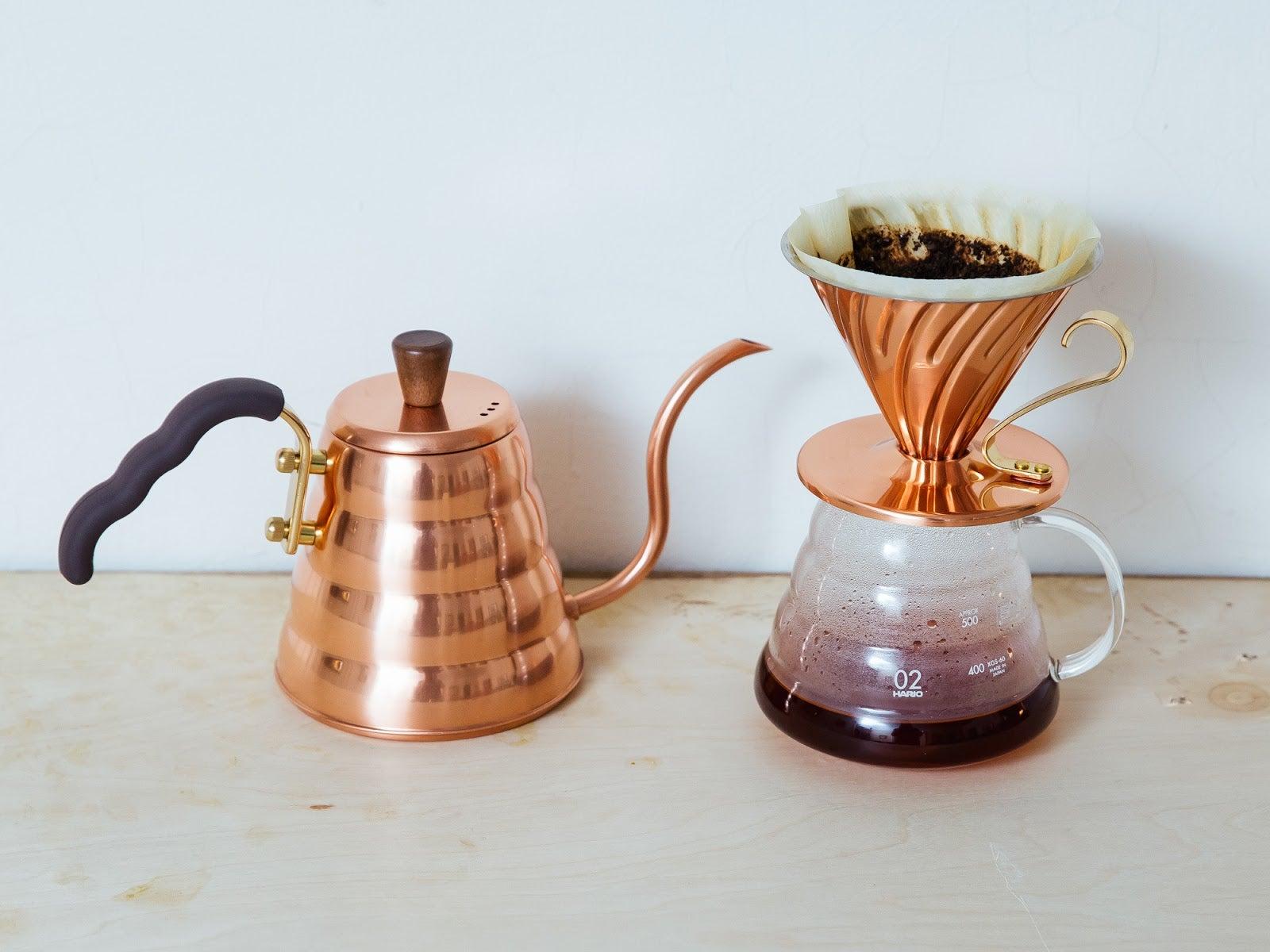 Hario Copper Pour-Over Set