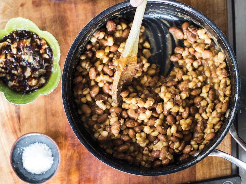 Samp & Beans Recipe
