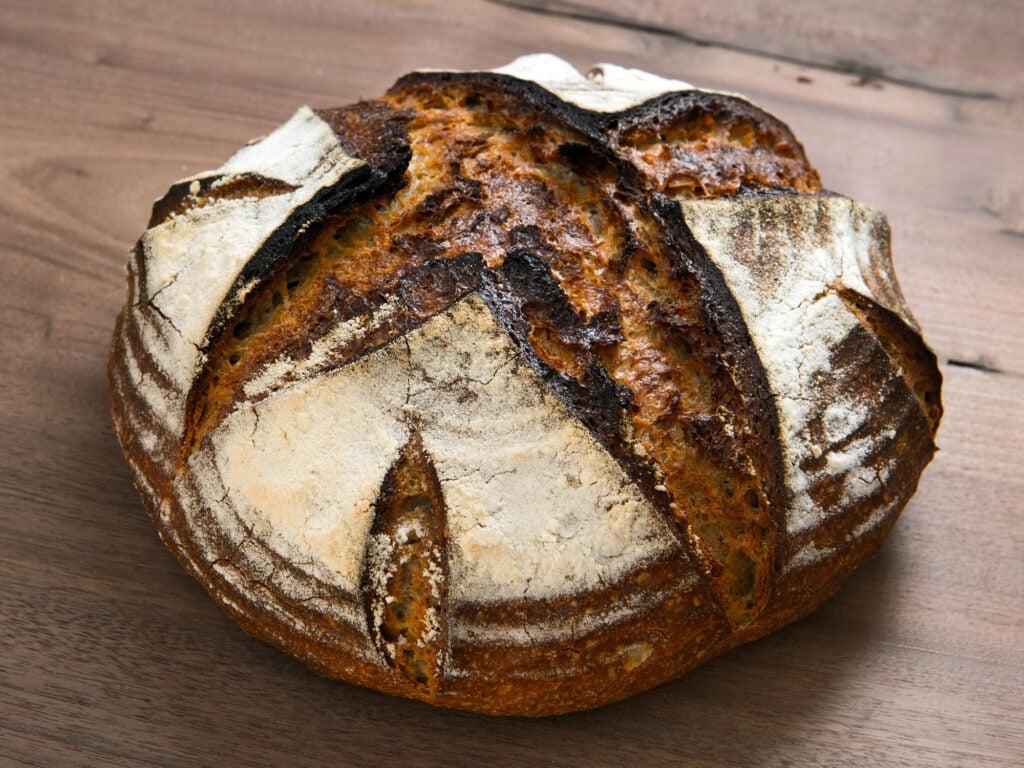 A loaf at Hewn