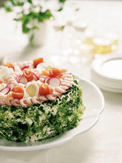 A Fool's Feast: Smörgåstårta (Swedish Sandwich Layer Cake)