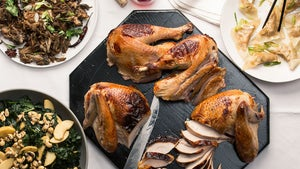 A New England Thanksgiving with a Chinese Twist